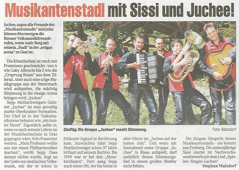 Artikel in der Morgenpost vom 15. September 2011